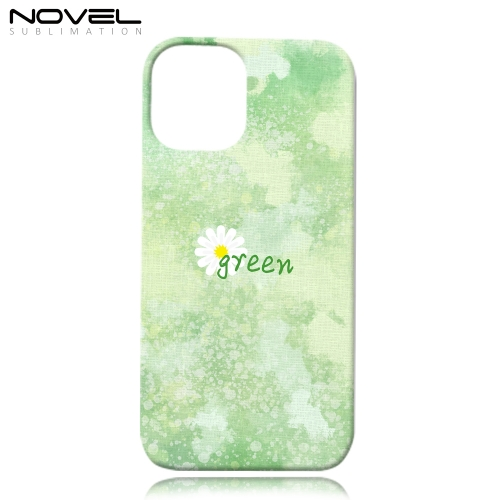 "Classic Sublimation Blank 3D Plastic Phone Case for iPhone 12, 5.4""/6.1""/6.7"""